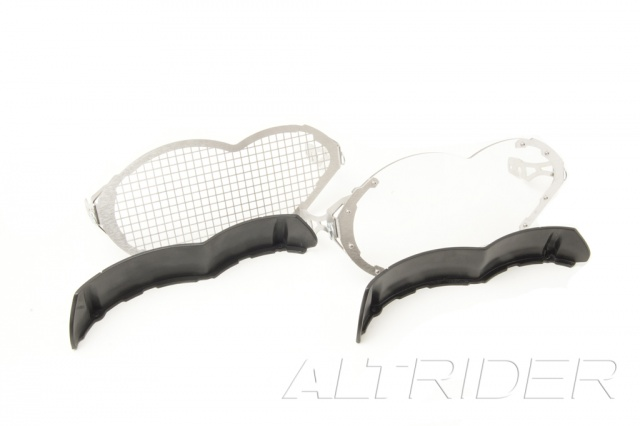 AltRider Headlight Guard Kit with Lexan and Stainless Faces for BMW R 1200 GS - Feature