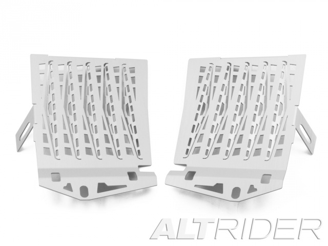 AltRider Radiator Guard for the BMW R 1200 GS Water Cooled (2013-2016) - Silver - Feature