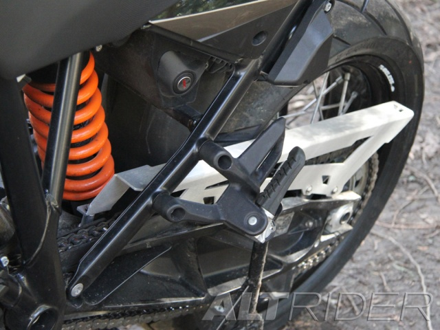 AltRider Chain Guard for the KTM 1050/1090/1190 Adventure / R - Installed