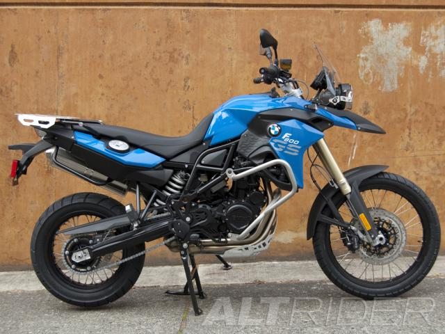 AltRider Crash Bars for the BMW F 800 GS - Installed
