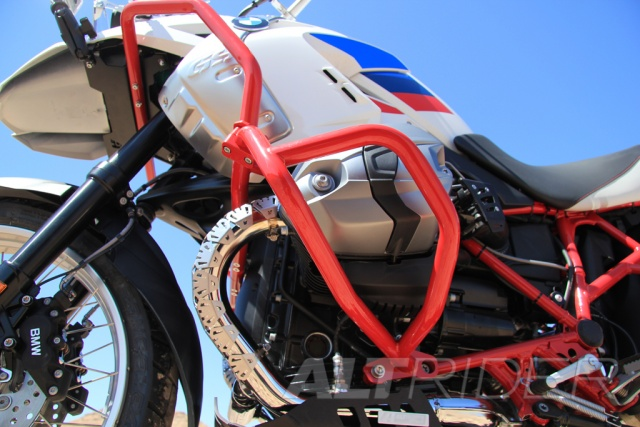 crash bars for the bmw r 1200 gs (2003-2012) - red altrider