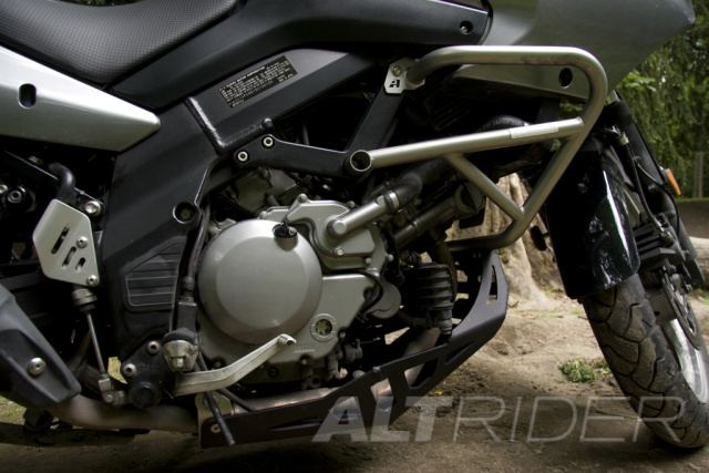 AltRider Crash Bars for the Suzuki V-Strom DL 650 - Installed