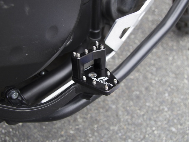 AltRider DualControl Brake System for the Kawasaki KLR 650 (2011 and Newer) - Installed