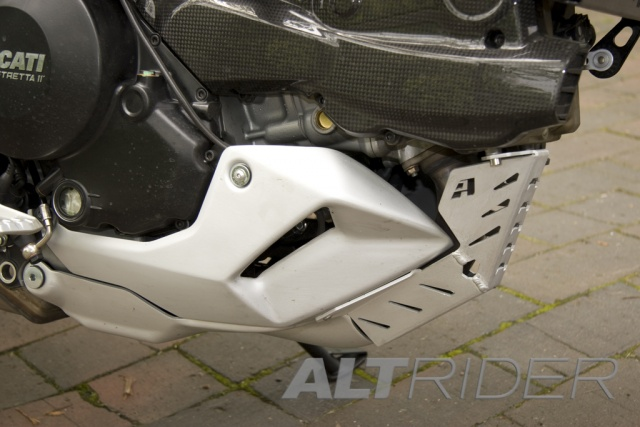 AltRider Header Guard for Ducati Multistrada 1200 (2010-2014) - Installed