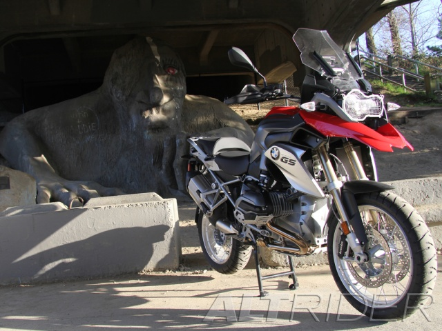 AltRider Headlight Guard Kit for the BMW R 1200 GS /GSA Water Cooled - Installed