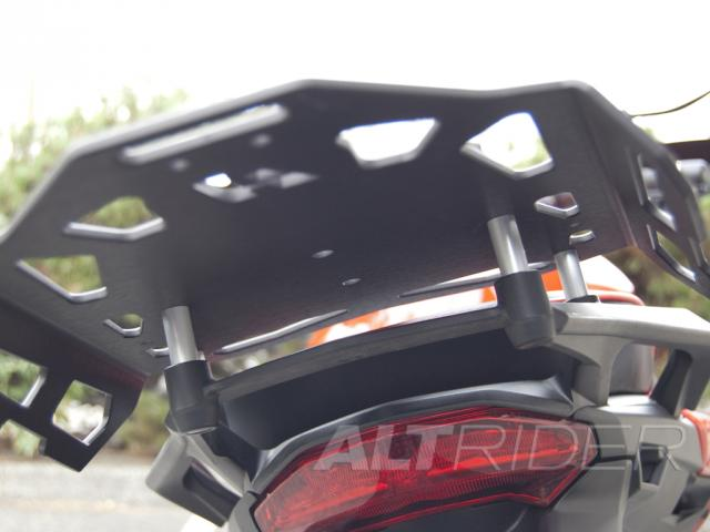 AltRider Luggage Rack for Ducati Multistrada 1200 - Installed
