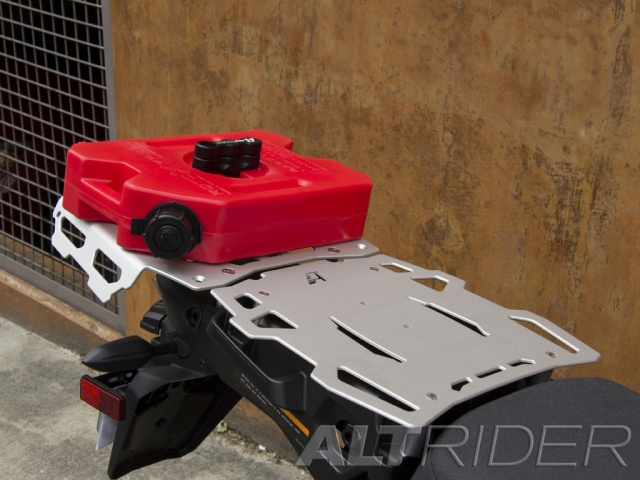 AltRider Pillion Luggage Rack for Yamaha Super Tenere XT1200Z - Installed