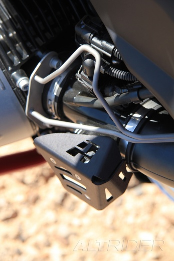 AltRider Potentiometer Guard for the BMW R 1200 GS - Installed