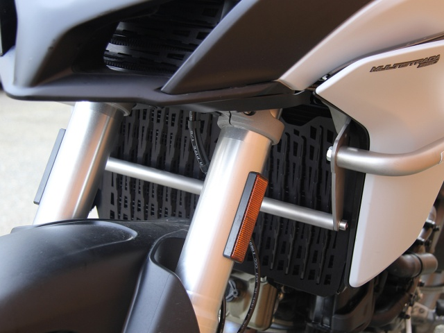 AltRider Radiator Guard for Ducati Multistrada 1200 - Installed