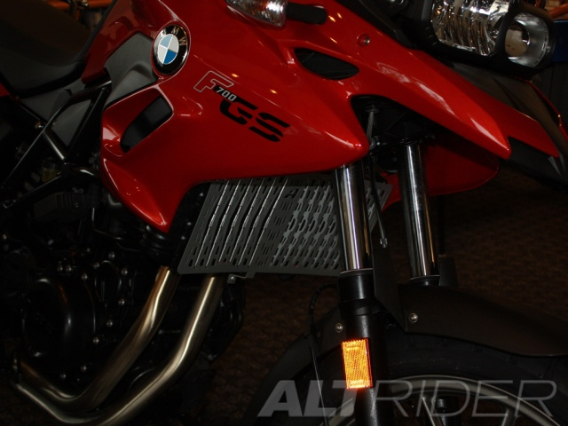 AltRider Radiator Guard for the BMW F 700 GS - Installed