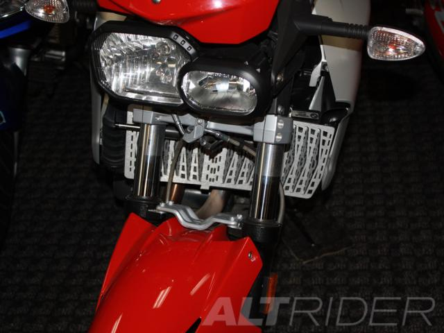 AltRider Radiator Guard for the BMW F 800 R - Installed
