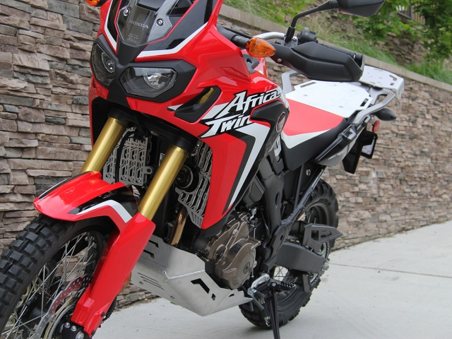 AltRider Radiator Guards for the Honda CRF1000L Africa Twin/ ADV Sports - Installed