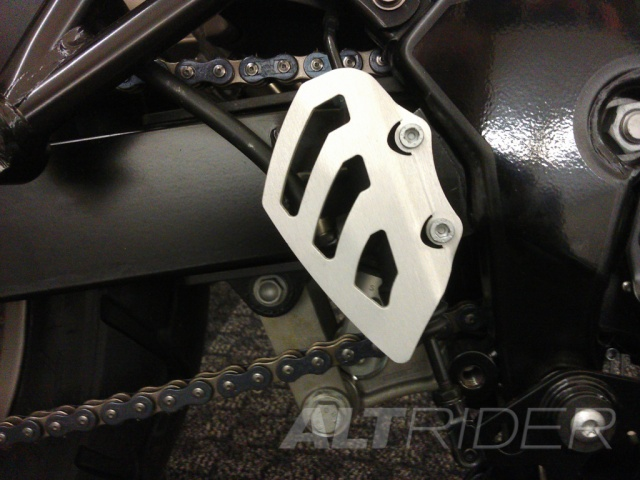 AltRider Rear Brake Master Cylinder Guard for BMW G 650 GS  - Installed