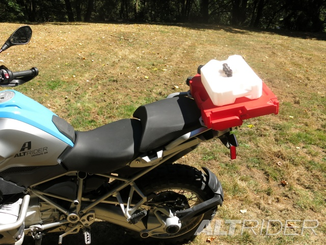 AltRider Rear Luggage Rack for the BMW R 1200 GS Water Cooled - Installed