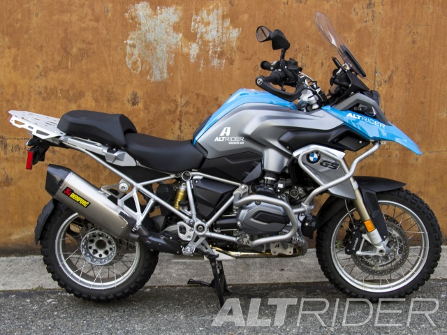 AltRider Rear Luggage Rack for the BMW R 1200 & R 1250 GS Water Cooled - Installed
