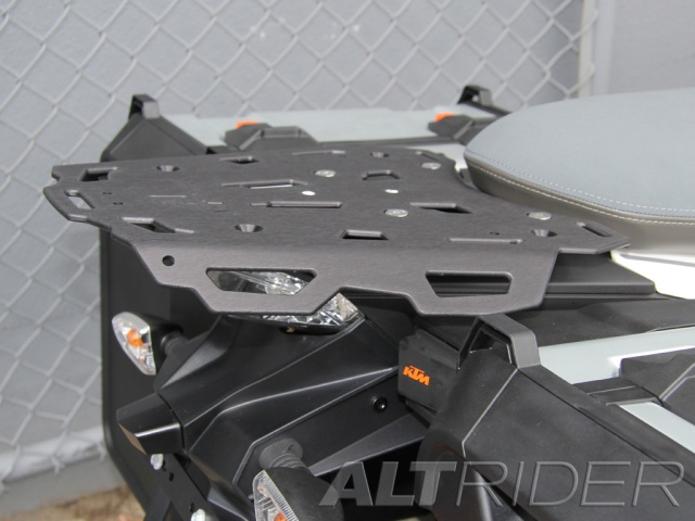 AltRider Rear Luggage Rack for the KTM 1290 Super Adventure - Installed