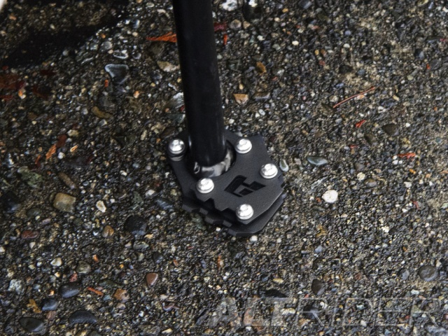 AltRider Side Stand Foot for the KTM 1290 Super Adventure - Installed