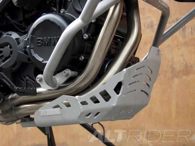 AltRider Skid Plate for BMW F 800 GS  - Installed
