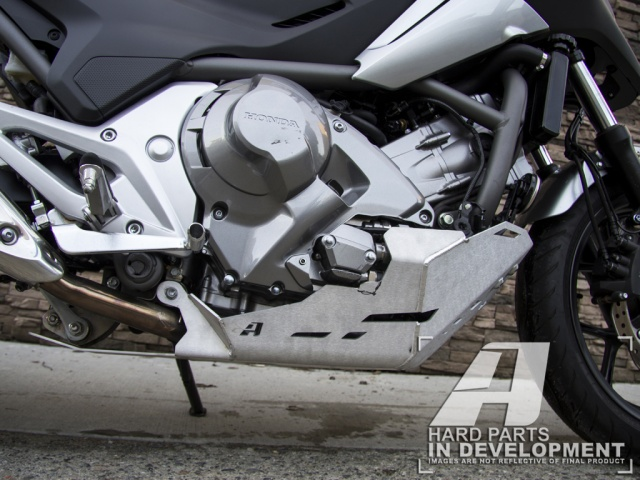 AltRider Skid Plate for Honda NC750X - Installed
