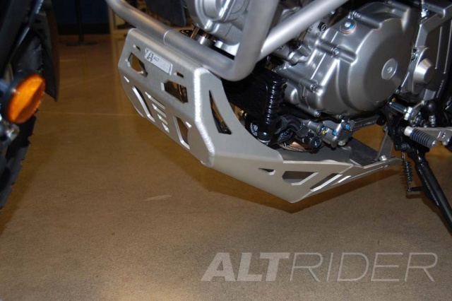 AltRider Skid Plate for Suzuki V-Strom DL 650 - Installed