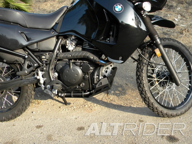 AltRider Skid Plate for the Kawasaki KLR 650 - Installed