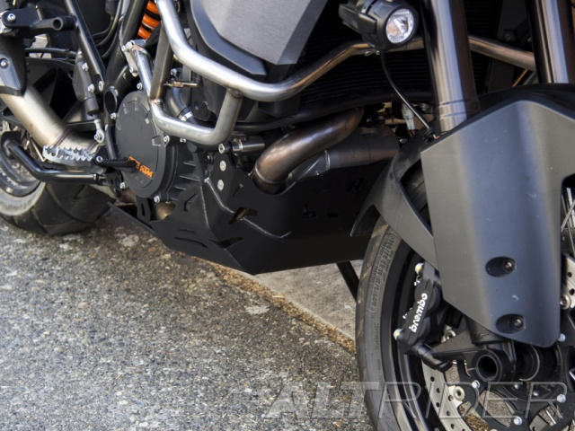 AltRider Skid Plate for the KTM 1050/1090/1190 Adventure / R  - Installed
