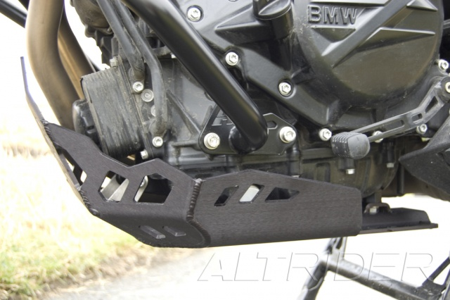 AltRider Skid Plate Kit  for BMW F 650 GS Twin - Installed