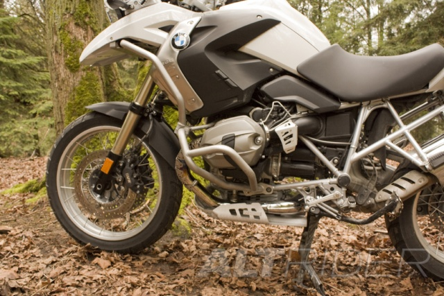 AltRider Upper Crash Bars Assembly for the BMW R 1200 GS (2008-2012) - Installed