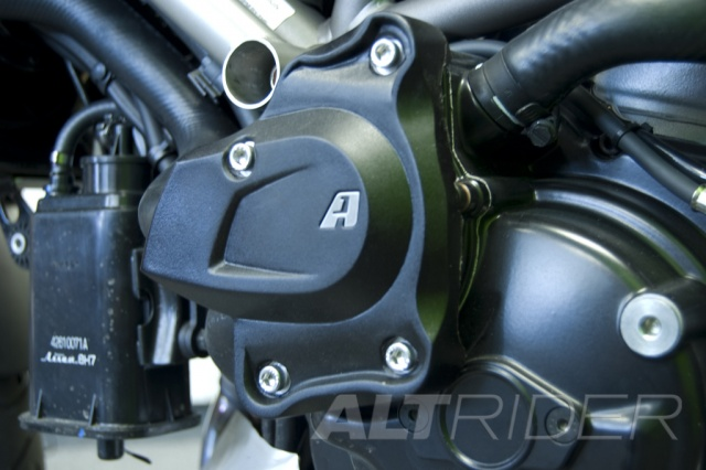 AltRider Water Pump Guard for Ducati Multistrada 1200 - Installed