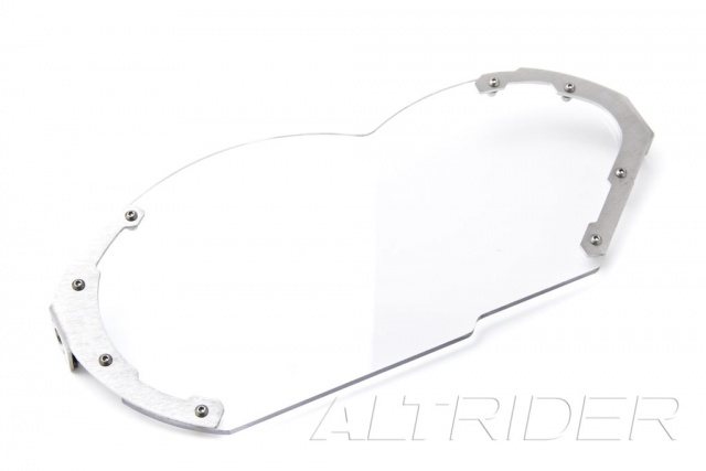 AltRider Headlight Guard Kit with Clear and Stainless Faces for BMW R 1200 GS (2003-2012) - Product Contents