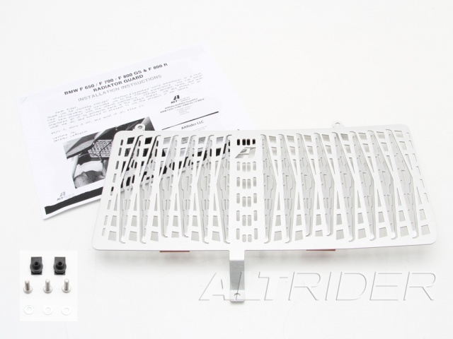 AltRider Radiator Guard for the BMW F 700 GS - Product Contents