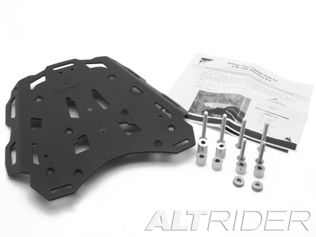 AltRider Rear Luggage Rack for the KTM 1050/1090/1190 Adventure / R - Product Contents