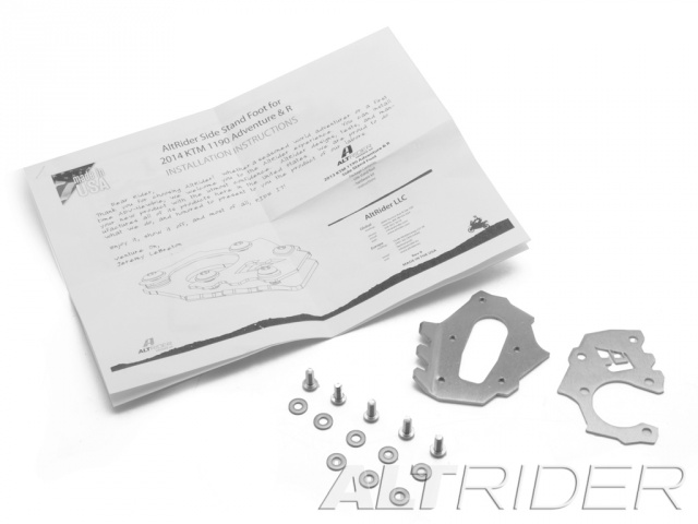 AltRider Side Stand Foot for the KTM 1290 Super Adventure - Product Contents