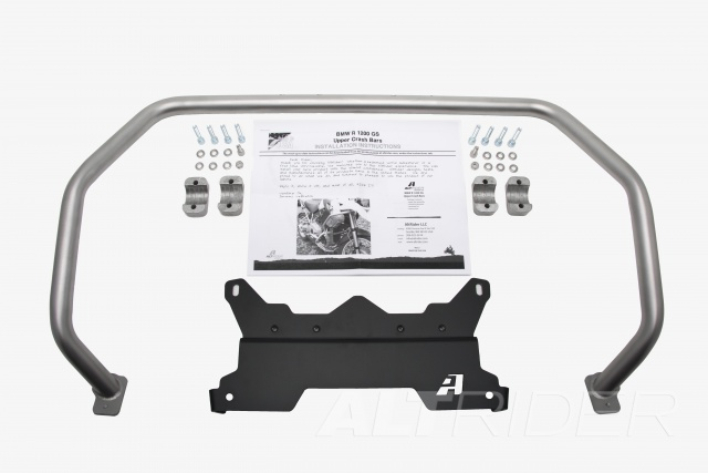 AltRider Upper Crash Bars Assembly for the BMW R 1200 GS (2008-2012) - Product Contents
