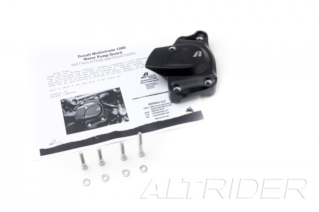 AltRider Water Pump Guard for Ducati Hyperstrada (2013-2015) - Product Contents