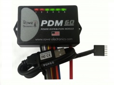 Rowe Electronics PDM60 - Power Distribution Module - Fuse Block Replacement - Feature