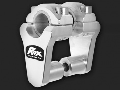 "ROX Elite Pivoting Handlebar Riser 2"" Rise x 7/8"" Handlbar Clamp x 7/8"" or 1 1/8"" Handlebar - Feature"