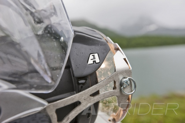 AltRider Glare Guard for the BMW R 1200 GS - Action Shot