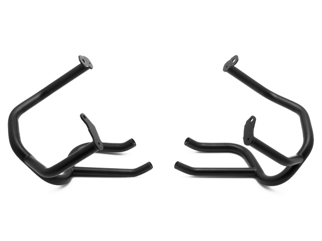 AltRider Crash Bars for the BMW R 1200 GS Adventure Water Cooled - Black - Additional Photos