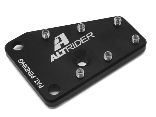 AltRider DualControl Brake Enlarger for the Suzuki DR 650 - Black - Additional Photos