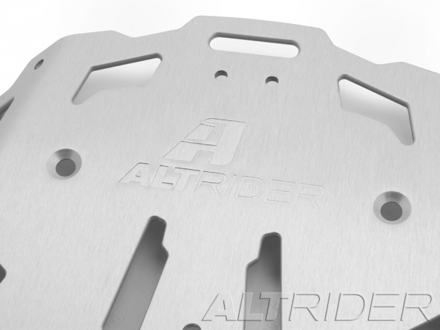 AltRider Luggage Rack System for the KTM 1050/1090/1190 Adventure / R - Silver - Additional Photos