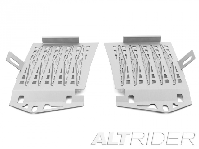 AltRider Radiator Guard for the BMW R 1200 GS Water Cooled (2013-2016) - Silver - Additional Photos