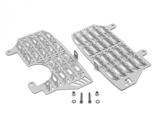 AltRider Radiator Guards for the Honda CRF1000L Africa Twin/ ADV Sports - Silver - Additional Photos