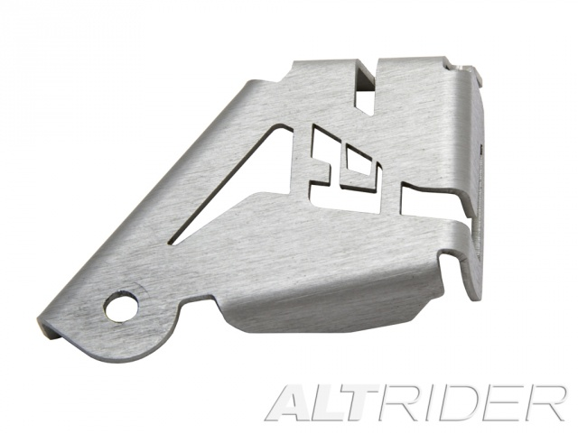 AltRider Rear Brake Reservoir Guard for the BMW R 1200 & R 1250 GS /GSA Water Cooled - Silver - Additional Photos