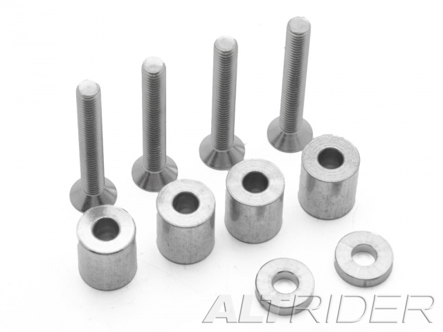 AltRider Rear Rack Spacer Kit for BMW Rallye Seat for the BMW R 1200 & R 1250 GS Water Cooled - Additional Photos