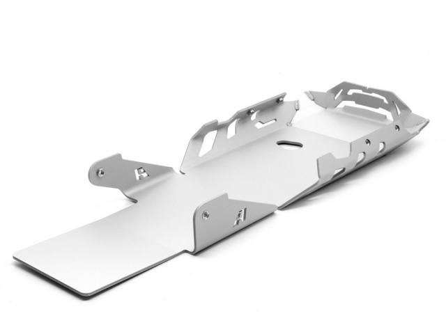 AltRider Skid Plate for the BMW R 1200 GS Adventure Water Cooled - Silver - Additional Photos