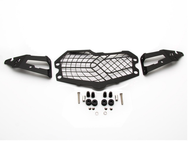 AltRider Stainless Steel Mesh Headlight Guard for the BMW F 850 / 750 GS - Additional Photos