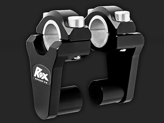 "ROX 2"" Pivoting Bar Risers for 7/8"" OR 1-1/8"" Handlebar - Additional Photos"