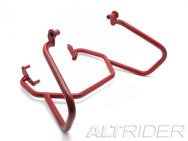 AltRider Crash Bars for the BMW F 800 GS - Red - Feature
