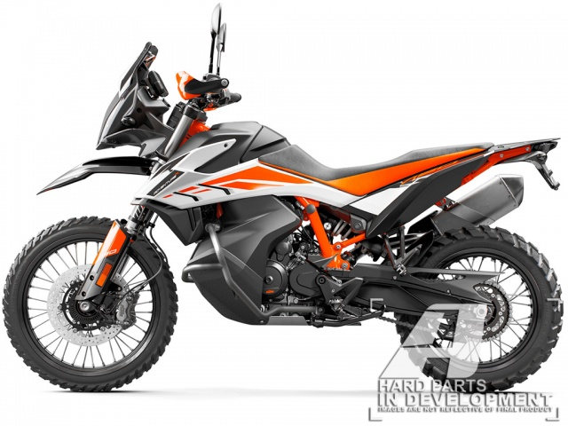 AltRider Crash Bars for the KTM 790 Adventure / R - Feature